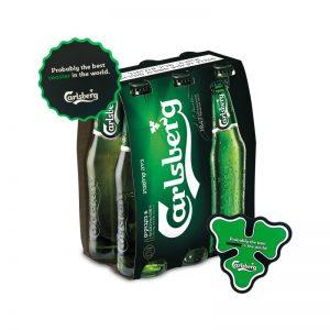 שישיית בירה קרלסברג Carlsberg