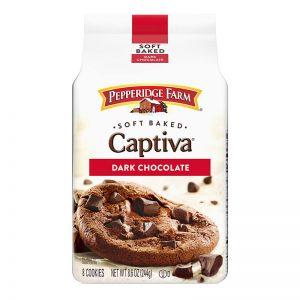 עוגיות בראוניז רכות עם שבבי שוקולד Pepperidge Farm