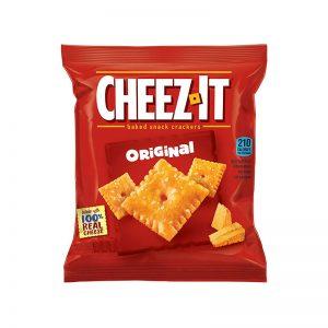 שקית קרקרים פריכים בטעם גבינת צ'דר Cheez It Original
