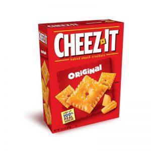 מארז קרקרים פריכים בטעם גבינת צ'דר Cheez It Original