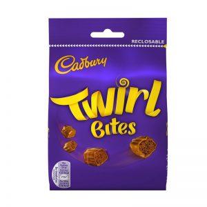 Twirl bites מקופלת מיני Cadbury