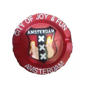 מאפרה בצבע אדום Amsterdam