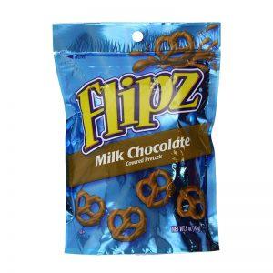בייגלה מצופה שוקולד חלב Flipz
