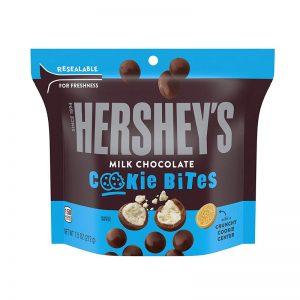 הרשיז בייטס עוגיות מצופות שוקולד חלב HERSHEY'S Bites