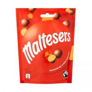 שקית כדורים פריכים מצופים שוקולד חלב Maltesers