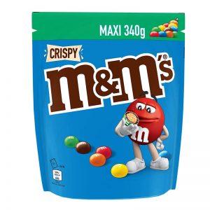 עדשים אמ אנד אמ קריספי אריזה גדולה m&m Crispy