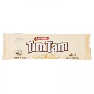 עוגיות בטעם שוקולד לבן מעולה TimTam