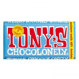 שוקולד טוניס חלב כהה 42% Tony's