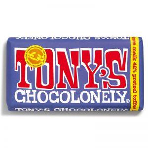 שוקולד טוניס בטעם בייגלה וטופי Tony's
