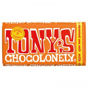 שוקולד טוניס בטעם קרמל מלוח Tony's