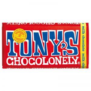 שוקולד חלב טוניס Tony's
