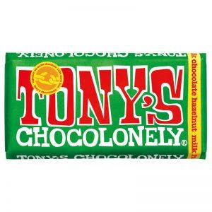 שוקולד טוניס בטעם חלב ואגוזים Tony's
