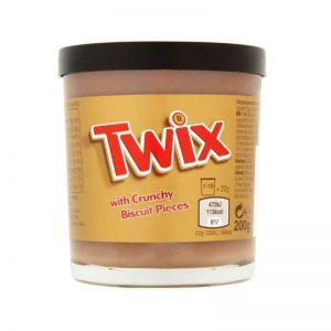 ממרח שוקולד חלב עם קרמל Twix