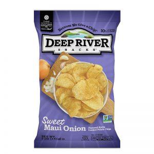 חטיף צ'יפס בטעם בצל מתוק Deep River