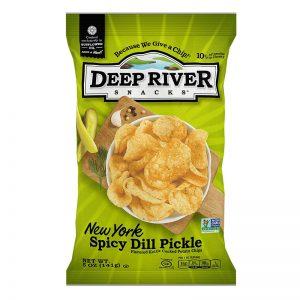 חטיף צ'יפס בטעם מלפפון חמוץ פיקנטי Deep River