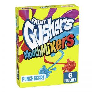 פרוט גאשרס בטעמי פירות Fruit Gushers