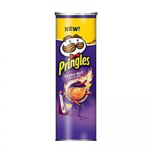 פרינגלס אקסטרה חריף צ'ילי וליים Pringles