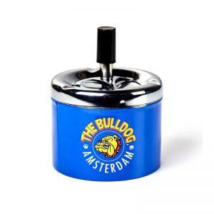מאפרת קפיץ BULLDOG בצבע כחול