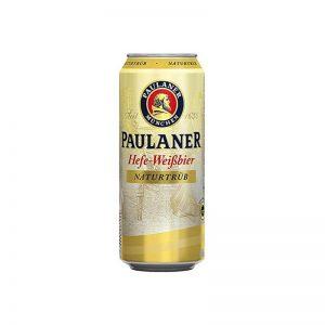 """פחית בירה פאולנר חיטה 500 מ""""ל"""