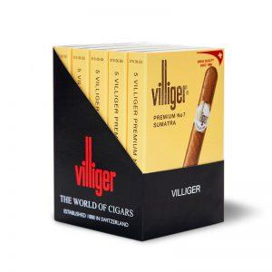מארז סיגרים 20 יחידות Villiger Premium 7 Sumatra