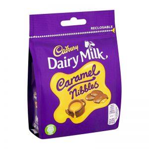 קדבורי קרמל ניבלס שוקולד חלב Cadbury Nibbles