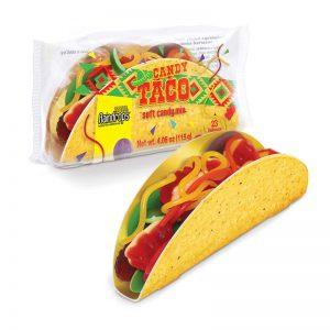 ממתק גומי בצורת טאקו גדול Candy Taco