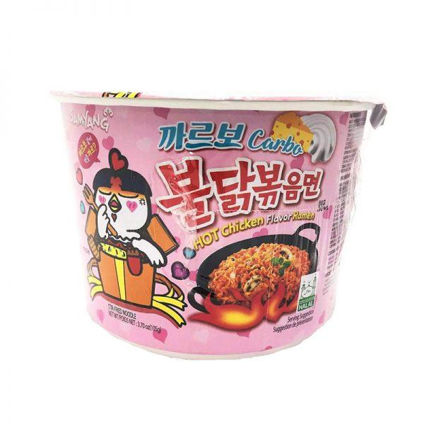 אטריות ראמן קוריאני בטעם עוף חריף אריזה גדולה