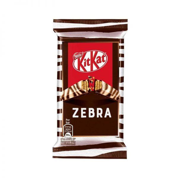 קיט קט זברה שוקולד מריר ולבן Kit Kat Zebra