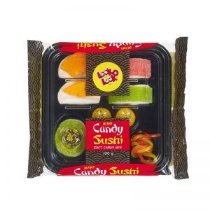 ממתק גומי בצורת מגש סושי Candy Sushi